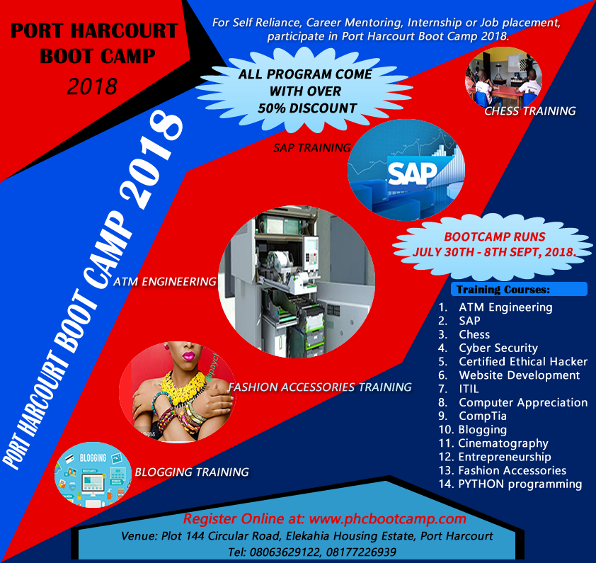 Port Harcourt Boot Camp 2018